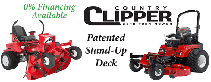 country clipper mowers