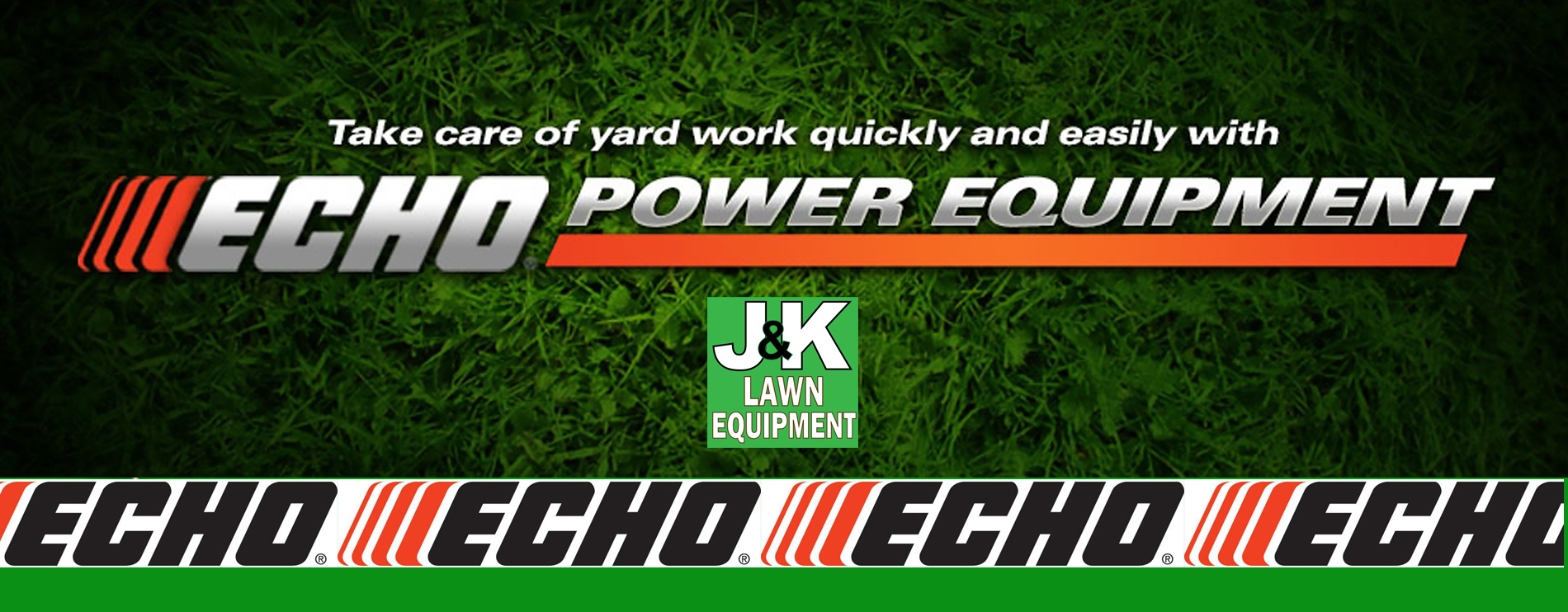 Echo Lawn Equipment, J and K Lawn Equipment