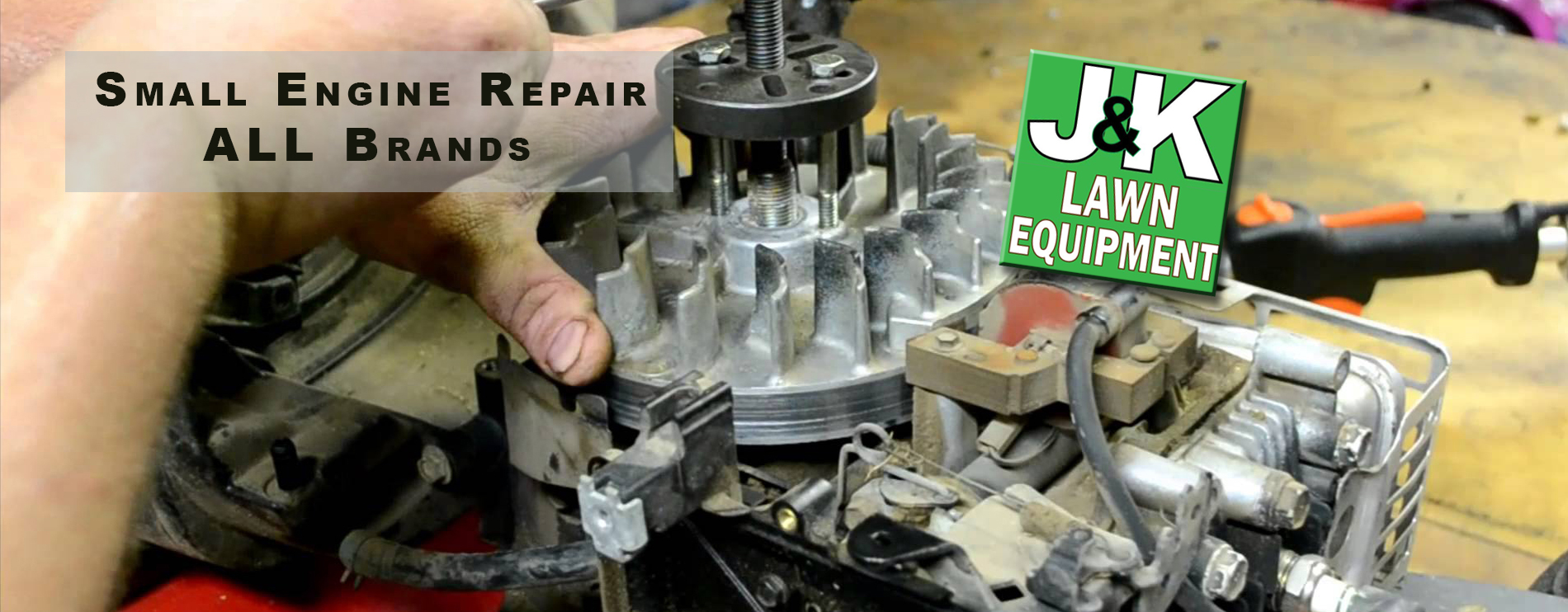 Small Engine Repair, J and K Lawn Equipment